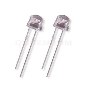 8mm straw hat Clear Leds